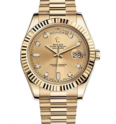 Rolex day-date II 2PRESIDENTイエローゴールド時計218238