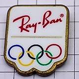 RAY-BAN 限定 レア ピンバッジ レイバン眼鏡オリンピック五輪 ピンズ フランス