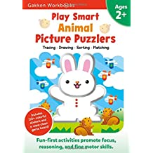 Play Smart Animal Picture Puzzlers Age 2+, Volume 10: At-Home Activity Workbook