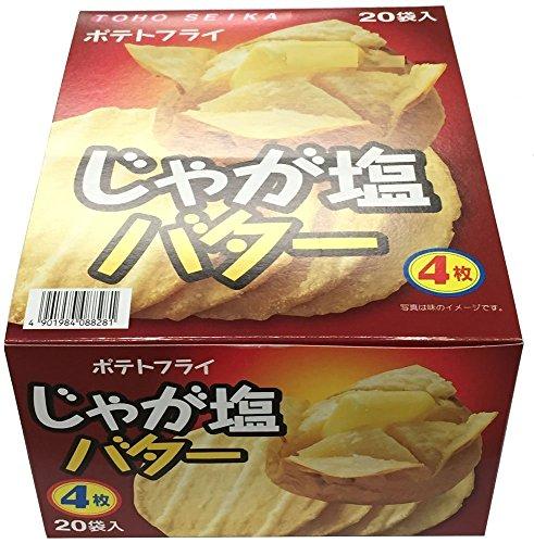 東豊製菓 ポテトフライ じゃが塩バター 11g×20袋...
