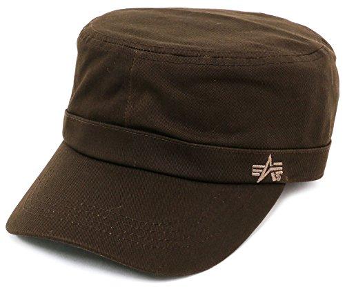 ALPHA INDUSTRIES INC(アルファ インダストリーズ) キャップ ワークキャップ (Free, ダークブラウン)