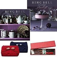 CONCENT・リンベル RING BELL カタログギフト クエーサー&マーキュリー+箸二膳(金ちらし)セット
