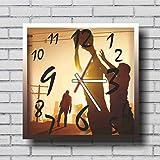 Amazon.co.jpThe Walking Dead ( ウォーキング・デッド ) 11.8'' 掛け時計 あなたの友人やご家族のための最高のプレゼントです。プラスチック製