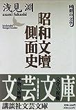 昭和文壇側面史 (講談社文芸文庫)