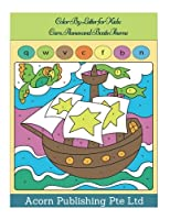 Color by Letter for Kids: Cars, Planes and Boats Theme