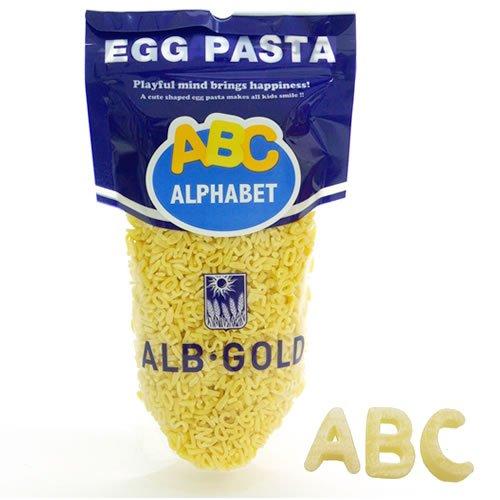 アルボ・ゴルド アルファベットパスタ 90g 英字パスタ
