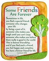 ブルーMountain Arts Some Friends Are Forever by LaurieannケリーSculpted樹脂マグネット( mr916)