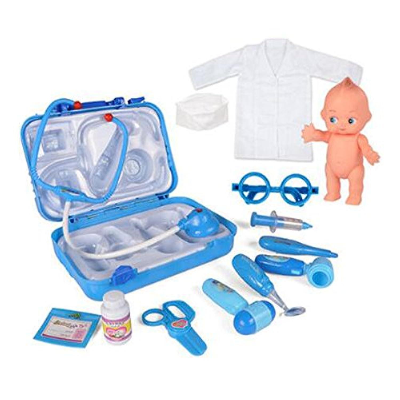医者のおもちゃMedicine Cabinetセットfor Children Kids Doctorキット/ Role Play Game £¬ C