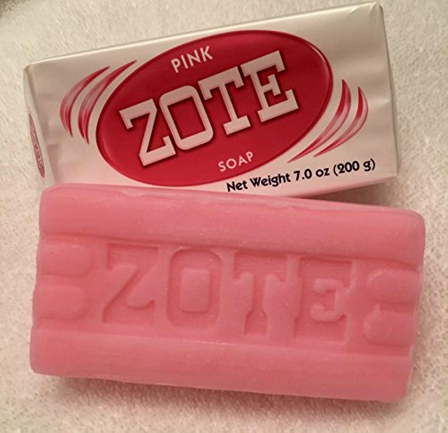 副詞カウンターパート同行Zote Laundry Soap Bar - Pink 7oz by Zote [並行輸入品]