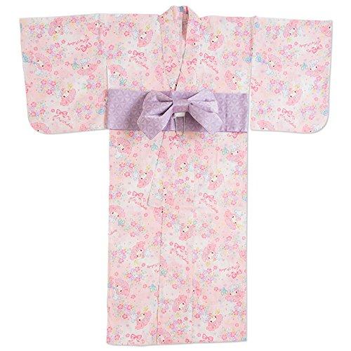 マイメロディ 大人浴衣(結び帯)