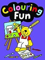 Colouring Fun: Purple