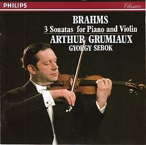 ブラームス:ヴァイオリン・ソナ
