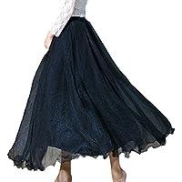 TaoTech ふんわり エレガント ロングスカート マキシスカート かわいい スカート