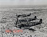 写真、歴史/科学:RAF、スピットファイア、北アフリカ上空