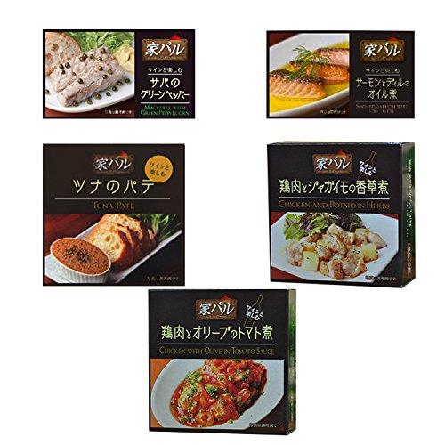 缶詰 おつまみ 缶つま 家バル 5種類 詰合せ セット (ワイ...