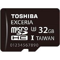 TOSHIBA microSDHCカード 32GB UHS-I U3対応 (最大読出速度95MB/s 最大書込速度60MB/s) (国内正規品) MUH-B032G