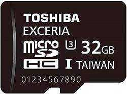TOSHIBA microSDHCカード 32GB UHS-I U3対応(国内正規品) MUH-B032G