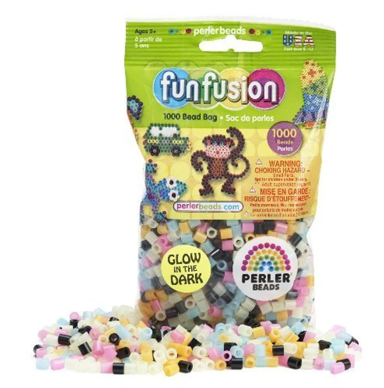 Perler Beads Glow in the Dark Bead Mix (1000 Count) by Perler Beads [並行輸入品]
