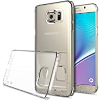 Samsung Galaxy Note 5 - Rearth Ringke Fusion (2015モデル国内正規品)グリップ感 プレミアム / 液晶保護フィルム付き! (Crystal View)