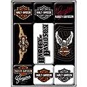 ハーレーダビッドソン Harley-Davidson Logo set/マグネット セット