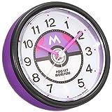 セイコー クロック 目覚まし時計 ポケットモンスター サン&ムーン ELバックライト アナログ 紫 メタリック CQ420Z SEIKO CQ420Z