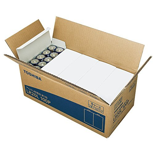 アルカリ乾電池 単1形 LR20L 100P 1台