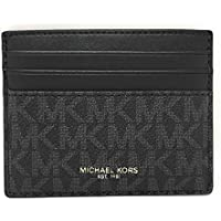 Michael Kors Cooper Tall Card Case Wallet - Slim Front Pocket Wallet