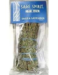 Lavender & Sage Smudge Stick 7