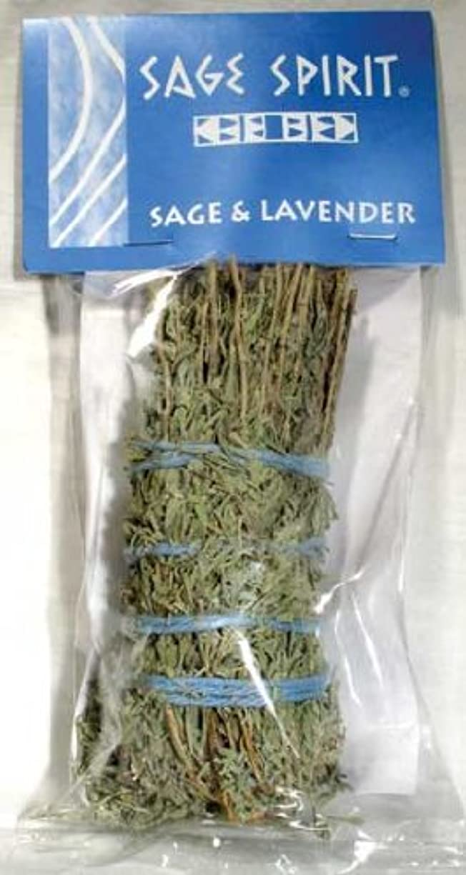 セットアップアイスクリーム国勢調査Lavender & Sage Smudge Stick 7