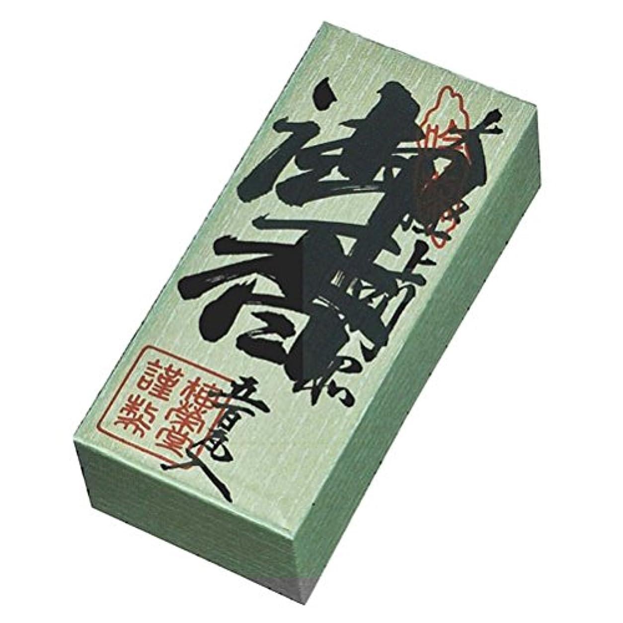 好ましい真鍮水を飲む徳香印 500g 紙箱入り お焼香 梅栄堂