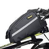 Rhinowalk 自転車フレームバッグ 自転車用 小物収納 簡単装着 トライアングルパック outdoorsports