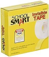 学校スマートマット書き込み可能Invisibleテープwith 1inコア–3/ 4インチx 36ヤード–パックof 12