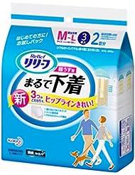 ( 试用装 ) リリーフ 裤型超薄像内衣 M ~ L ( ADL : 一个人的行走方式 ) 3片装