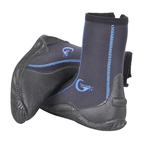 MORGEN SKY ダイビング ブーツ 5mm 磯靴 沢靴 渓流 ネオプレーンシューズ フィッシング YZ001