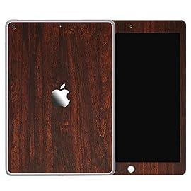 [全31色] wraplus for iPad mini5 第5世代 2019 [ローズウッド] スキンシール 前面 背面 カバー フィルム
