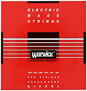 WARWICK ワーウィック エレキベース弦 6弦セット ニッケルメッキ 46400 Medium Light 020/130