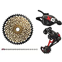 SRAM X01 Eagle 12 Speed Groupset, Trigger Shifter w/XG-1299 Cassette, Red #SY2987-self