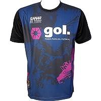 ゴル(gol.)CATTLEYA GAME SHIRT カトレアゲームシャツ G542-394 NVY ネイビー サイズL