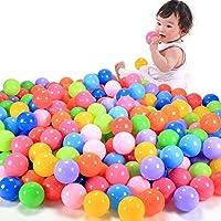 onemores ( TM ) 100個カラフルなボール楽しいボールソフトプラスチック海洋ボールベビーキッドおもちゃSwim Pit Toy
