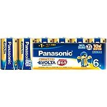 パナソニック EVOLTA 単1形アルカリ乾電池 6本パック LR20EJ/6SW