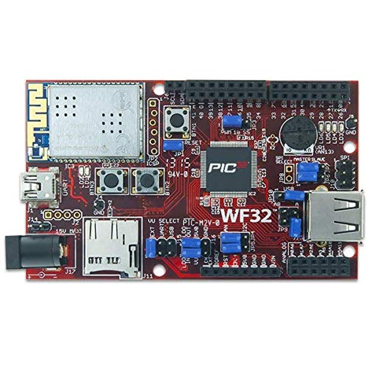 哀エスカレート好きDIGILENT wf32 : Wifi有効pic32マイクロコントローラーボードwith UNO r3ヘッダー