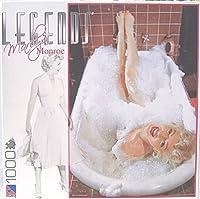 Marilyn Monroe - Legends Series - Marilyn Taking a Bubble Bath in the Tub - SUR LOX 1000 Piece Jigsaw Puzzle