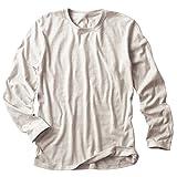 (ダルク)DALUC Authenticトライブレンド長袖Tシャツ4.3oz 【XS~XLサイズ/6colors】