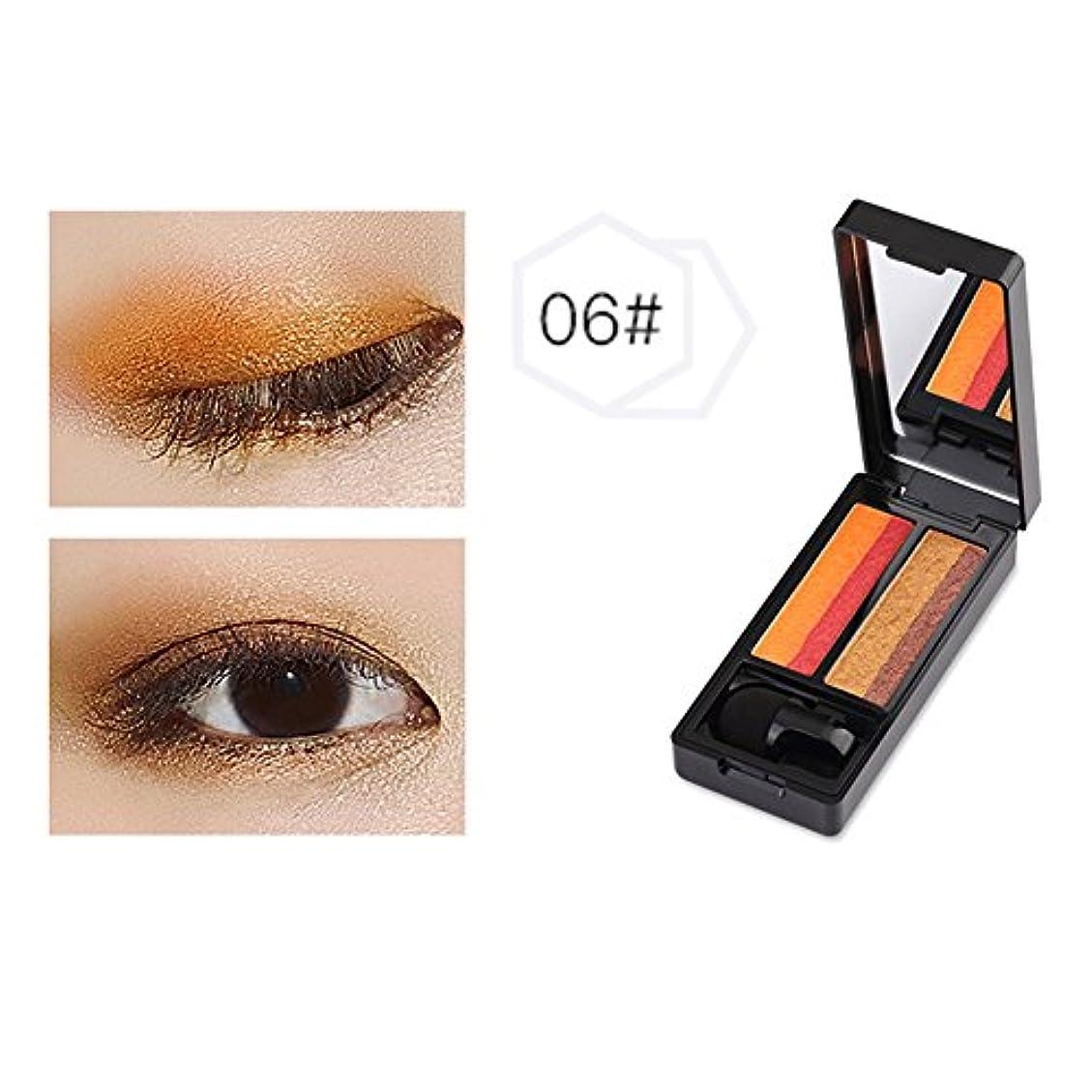 罰するピッチもっと少なくTerGOOSE スキンモデリングアイズ 人気2色アイシャドウ パレット 眼影06 極め細かい 4.4g