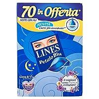 Lines Petal Blue Quadripack、ナイト - 70吸収剤