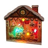 サンリオ クリスマスカード 洋風 ライト&メロディ 立体 ポップアップ サンタの部屋 S7325