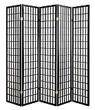 ハイタイプ障子スクリーン (5連) 【高さ約178.5cm/自在蝶番/間仕切り・衝立】