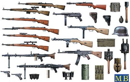 1/35 WW-II ドイツ小火器セット