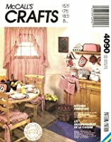 McCall's 4090 Sewing Pattern Curtains Apron Appliance Covers Pot Holder Oven Mitt by McCall's
