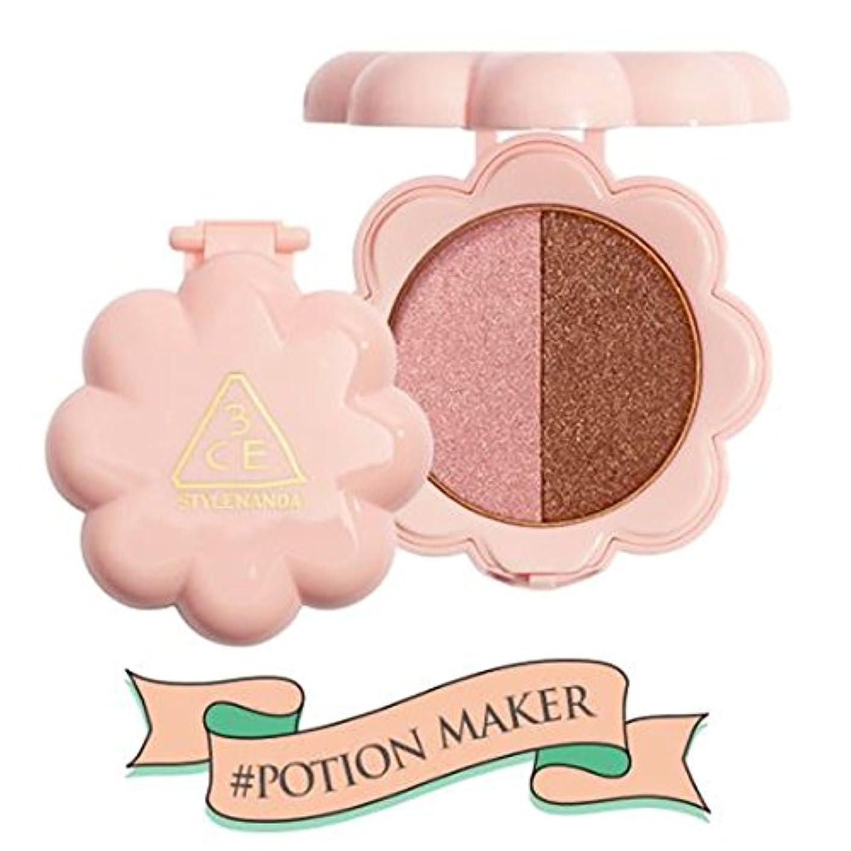 汚物蒸し器ファッションスリーコンセプトアイズ 3CE LOVE デュオ シャドウ #POTION MAKER 3.2g